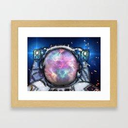 Space Cowboy by GEN Z Framed Art Print