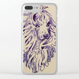 Cordies Have More Fun Clear iPhone Case