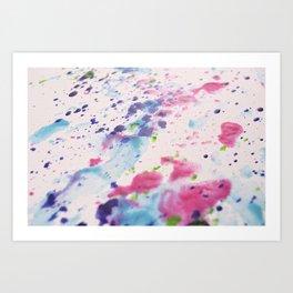 Summer Dots Art Print