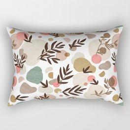 Vibrant colorful fall nature  Rectangular Pillow