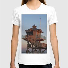 Guard Tower At Dusk T-shirt