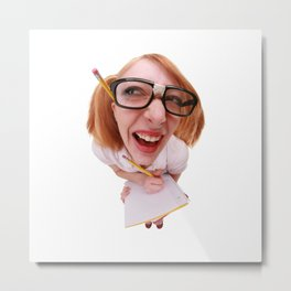 Smarty Pants Metal Print