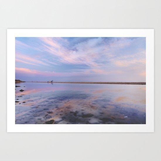 """Heaven walk"". Tarifa beach Art Print"