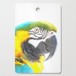 Macaw portrait Cutting Board