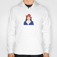 agent carter Hoodies featuring Agent Carter Vector by Missiieey