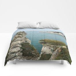 Etretat, France Comforters