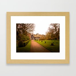 Country Home Goals Framed Art Print