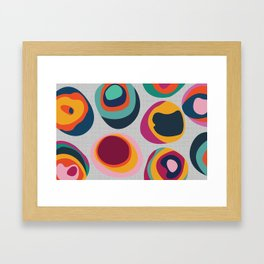 Rainbow Resin Framed Art Print