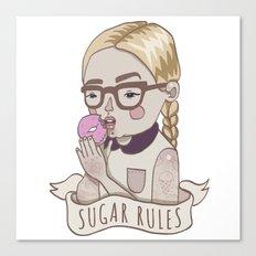 Sugar Rules Canvas Print