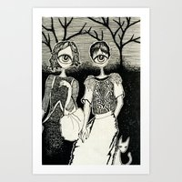 Eyed Night Art Print