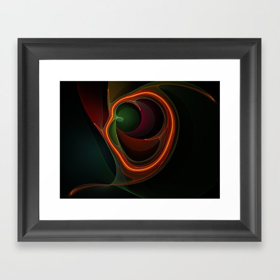 Filament Framed Art Print