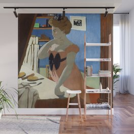 """Félix Vallotton """"Misia at Her Dressing Table"""" Wall Mural"""
