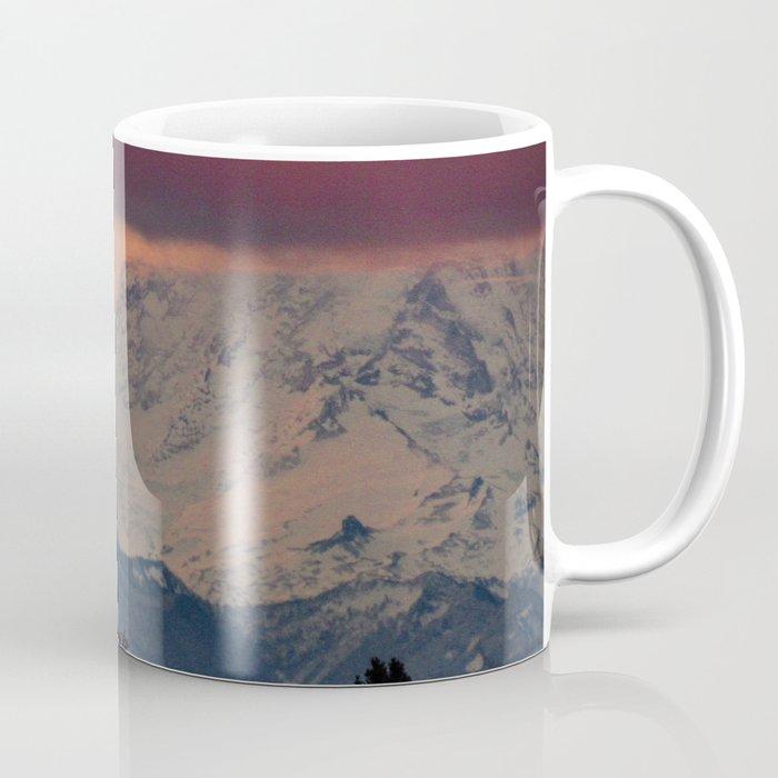 Autumn Morning Light on Mount Rainier Coffee Mug