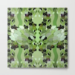 Rainforest Eye Metal Print
