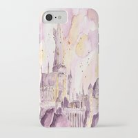 hogwarts iPhone & iPod Cases featuring hogwarts by impalei
