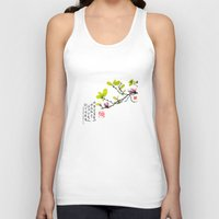 magnolia Tank Tops featuring Magnolia by Leo Wang