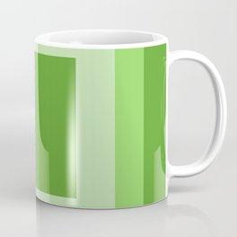 Green Square Design Coffee Mug