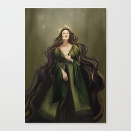 Earth blessing Canvas Print