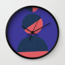 Series Circle Wall Clock