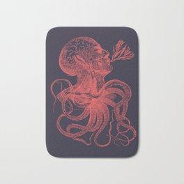 Octopussy Man under the Sea Abstract Concept Art Bath Mat