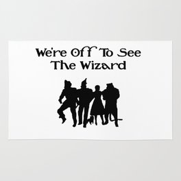 We're Off To See The Wizard  Rug