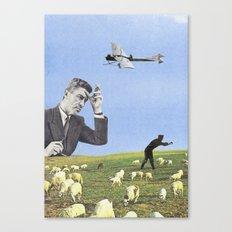 Le mouton noir Canvas Print