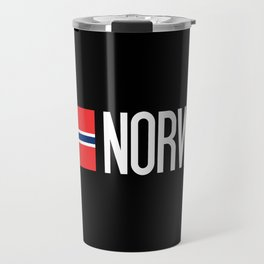 Norway: Norwegian Flag & Norway Travel Mug