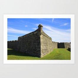 Castillo de San Marcos VII Art Print