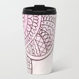 Elephant Hena Travel Mug