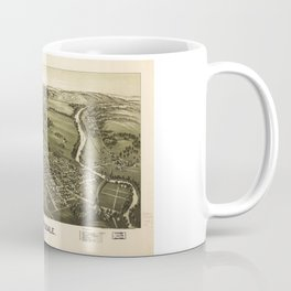 Aerial View of Meyersdale, Pennsylvania (1900) Coffee Mug