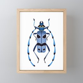 Alpine Longhorn Framed Mini Art Print