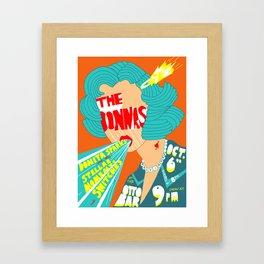Donnas Poster Framed Art Print