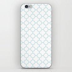 MOROCCAN {LIGHT BLUE} iPhone & iPod Skin