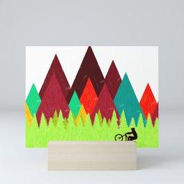 MTB Trails Mini Art Print