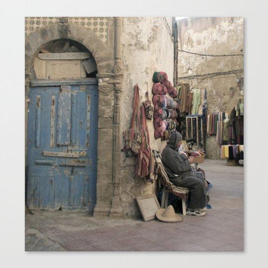 Marrakesh Street Canvas Print