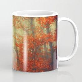 fire walk - retro autumn forest Coffee Mug