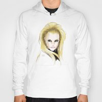 britney spears Hoodies featuring Britney Spears Scream & Shout by Eduardo Sanches Morelli
