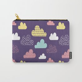Rain Clouds Carry-All Pouch