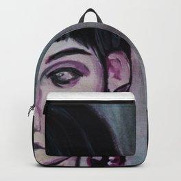 inscrutable dame Backpack