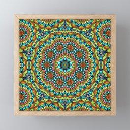 Bohemian Mandala Framed Mini Art Print