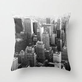 The Top of the World Throw Pillow