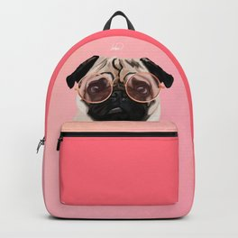 Intellectual Pug Backpack