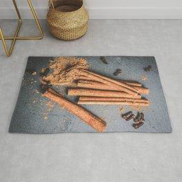 Cinnamon and anise art #food #stilllife Rug