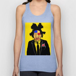 Jean Michelle Basquiat Unisex Tank Top