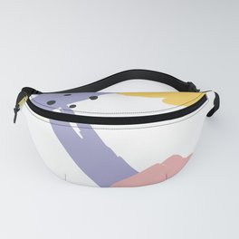 Memphis Colors Fanny Pack