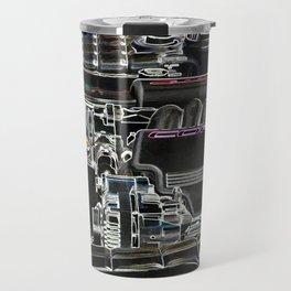 The Image Of A Car Engine Compartment Travel Mug