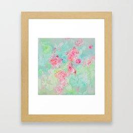 A dash of pink Framed Art Print