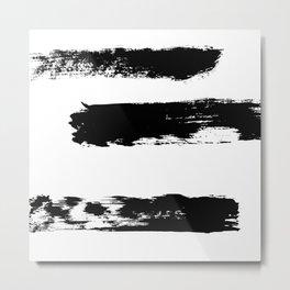 Brush 02 Metal Print