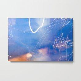 All a Blur Metal Print
