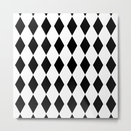 Scandinavian simple pattern . Metal Print